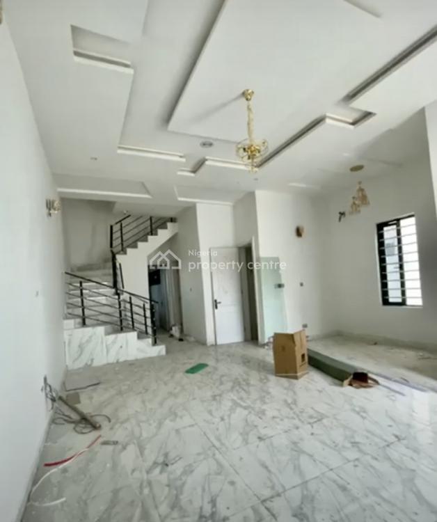 4 Bedroom Semi-detached Duplex in a Secured Estate, Chevron Axis, Lekki, Lagos, Semi-detached Duplex for Sale