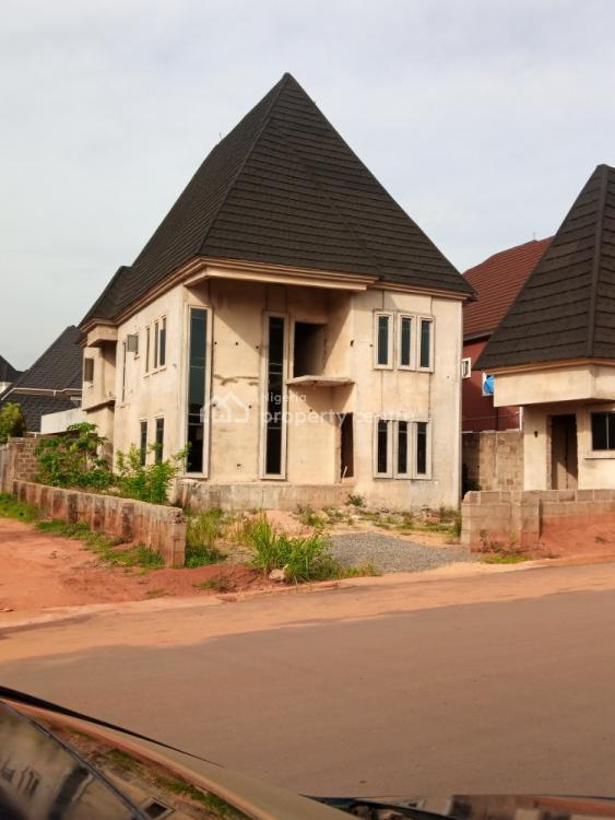 Newly Built 4 Bedroom Duplex 80% Complete, Nta Road Opposite Labour House, Asaba, Delta, Detached Duplex for Sale