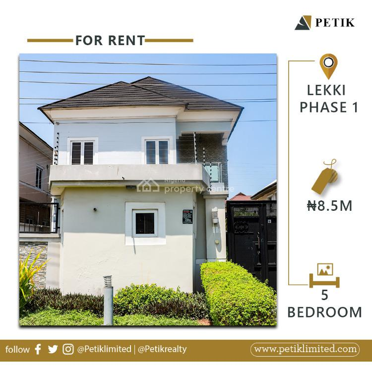 5 Bedrooms Fully Detached Duplex, Lekki Phase 1, Lekki, Lagos, Detached Duplex for Rent