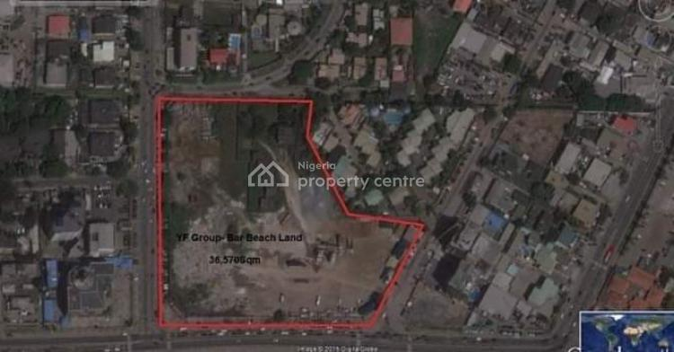 Land with Building Approval 20,000 Sqm and 16,570 Sqm Totaling 36,570, Akin Adesola Street, Ahmadu Bello, Victoria Island (vi), Lagos, Mixed-use Land for Sale