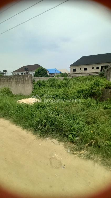 Half Plot of Land, By The Main Road, Ibeshe, Ikorodu, Lagos, Land for Sale