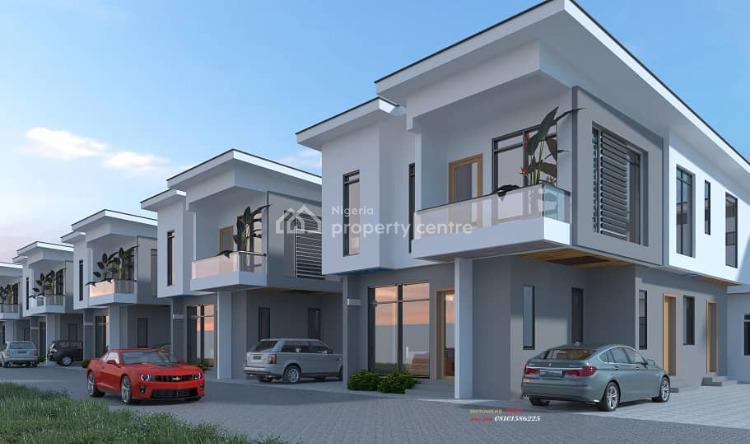 1 Units of 4 Bedroom Terrace, By Pinnock Estate, Osapa. Off Jakande Shoprite Road, Lekki, Lagos, Terraced Duplex for Sale