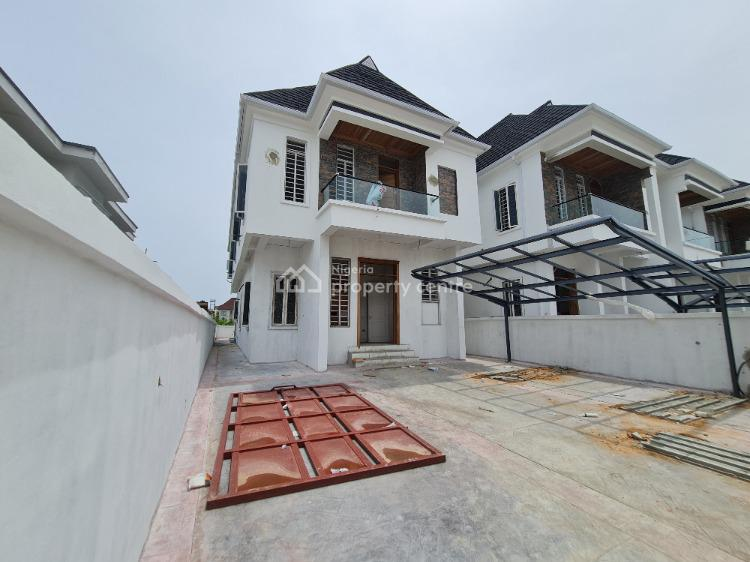 Humongous 5 Bedroom Duplex with Bq in a Serviced Estate/24hrs Light, Gated Estate Facing Expressway, Lekki, Lagos, Detached Duplex for Sale