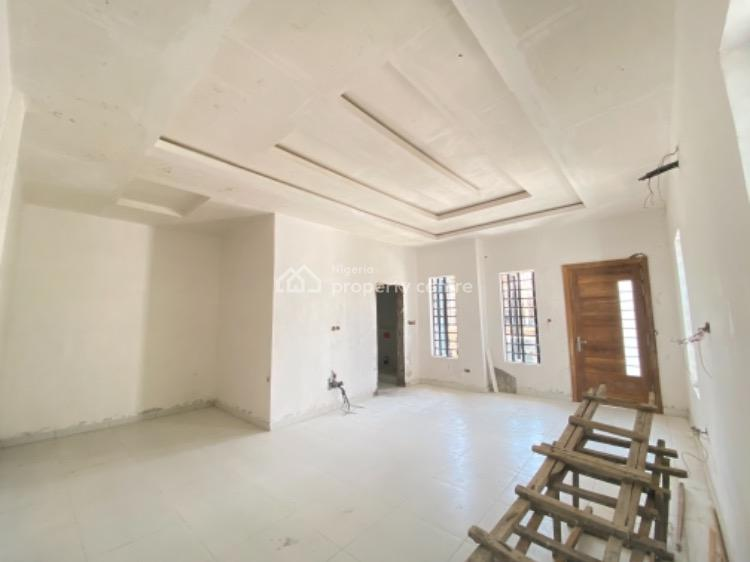 Four Bedrooms Semi Detached House with Bq, By Second Toll Chevron, Lekki Phase 1, Lekki, Lagos, Semi-detached Duplex for Sale