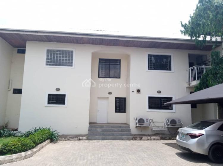 Solidly Built By Julius Berger: 4 Bedrooms Terrace Duplex with Bq, Lakeside View, Jabi, Abuja, Terraced Duplex for Sale