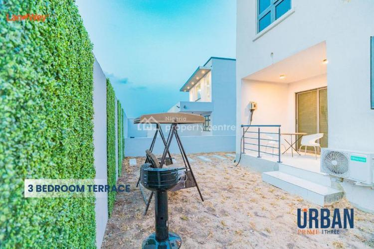 Enjoy Luxury in a 3 Bedroom Terrace Duplex, Just Pay and Pack in, Abraham Adesanya, Ogombo Road; Opposite Urban Prime Three, Lekki, Lagos, Terraced Duplex for Sale