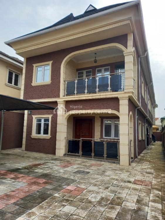 Brand New 4 Bedroom Detached Duplex, on an Estate Off College Road Ogba Ikeja Lagos, Ogba, Ikeja, Lagos, House for Sale