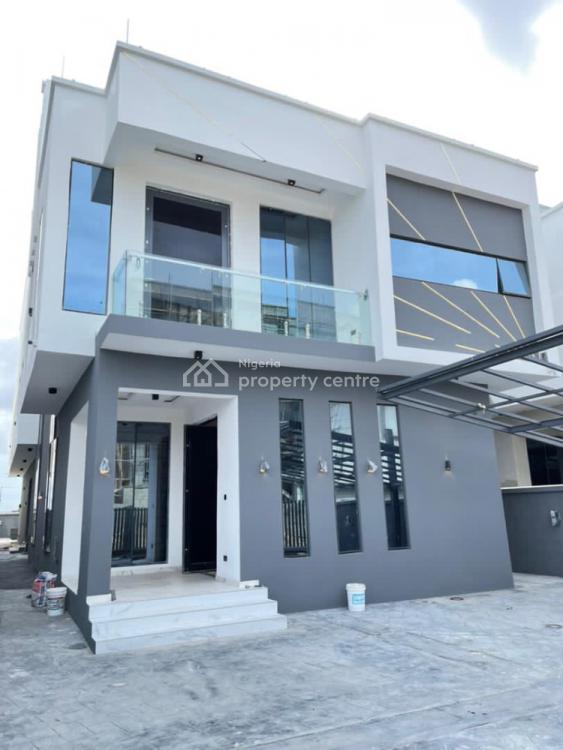 Classic Fully Automated 5 Bedroom Fully Detached Duplex with Swimming, Pinnock Beach Estate, Osapa, Lekki, Lagos, Detached Duplex for Sale