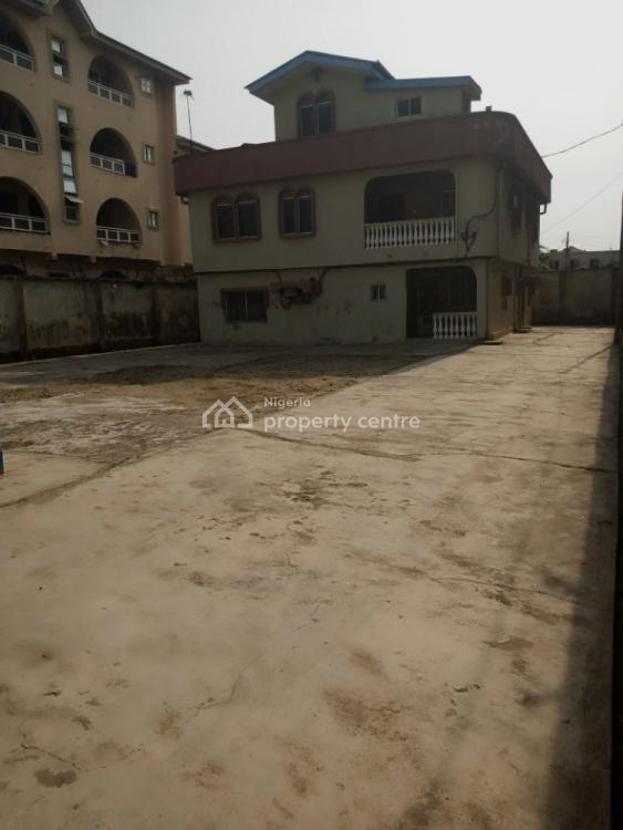 a Well Built Two Storey Building, Jemtok Street, Ago Palace, Isolo, Lagos, Block of Flats for Sale