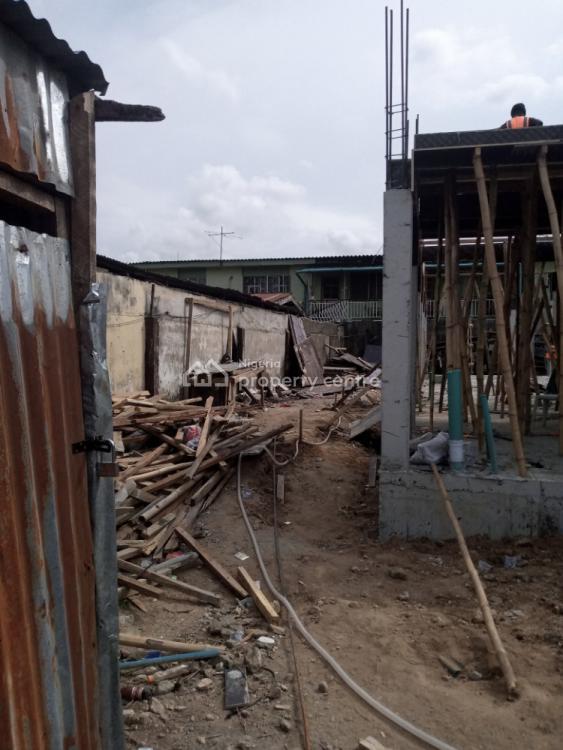 Ongoing Construction of 4 Bedroom Terrace Duplex, Ifako, Gbagada, Lagos, Terraced Duplex for Sale