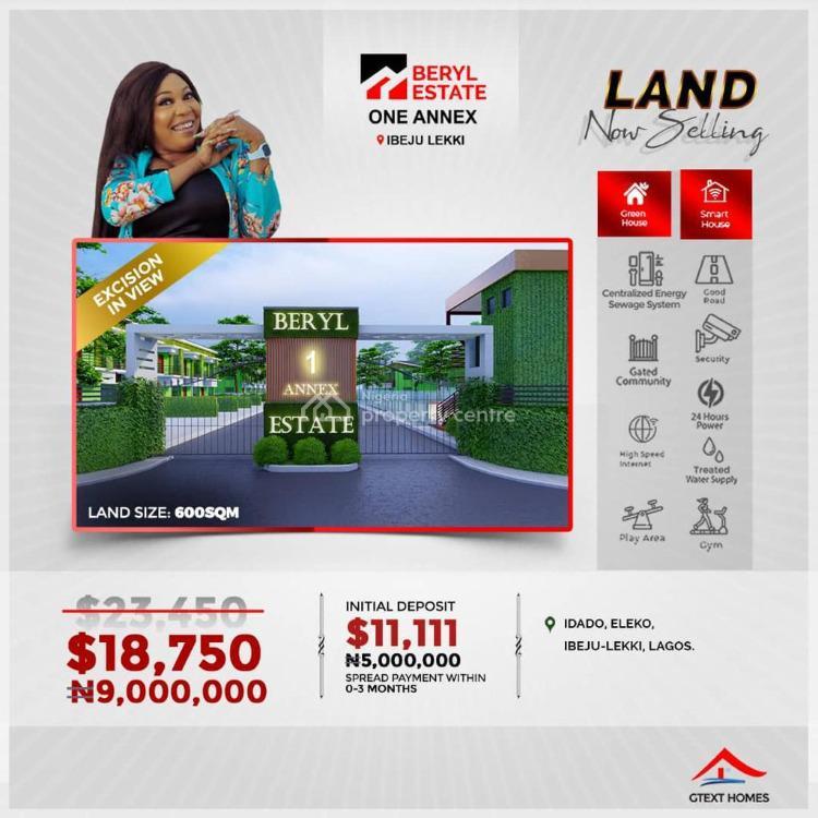 Luxury Green and Smart Serviced Plot, Idado, Eleko, Ibeju Lekki, Lagos, Mixed-use Land for Sale