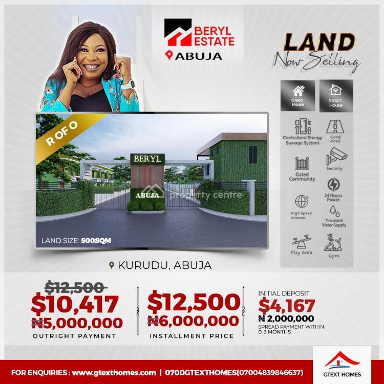 Luxury Serviced Green and Smart Estate, Kurudu, Abuja, Mixed-use Land for Sale