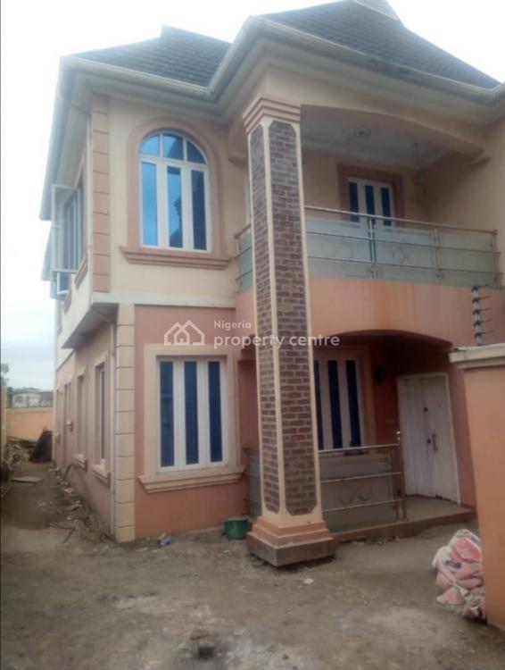 4 Bedroom Duplex with a Room Bq, Labak Estate, New Oko-oba, Agege, Lagos, Detached Duplex for Sale