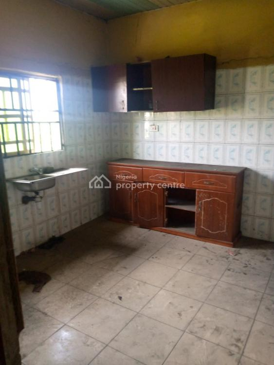 a 2 Bedroom Flat with Decent Facilities, By Market Junction, Rukpokwu, Port Harcourt, Rivers, Flat for Rent