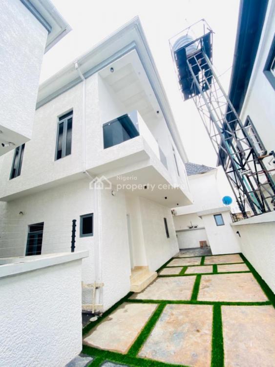 5 Bedroom Fully Detached Duplex with a Room Bq, Chevron Alternative, Lekki, Lagos, Detached Duplex for Rent