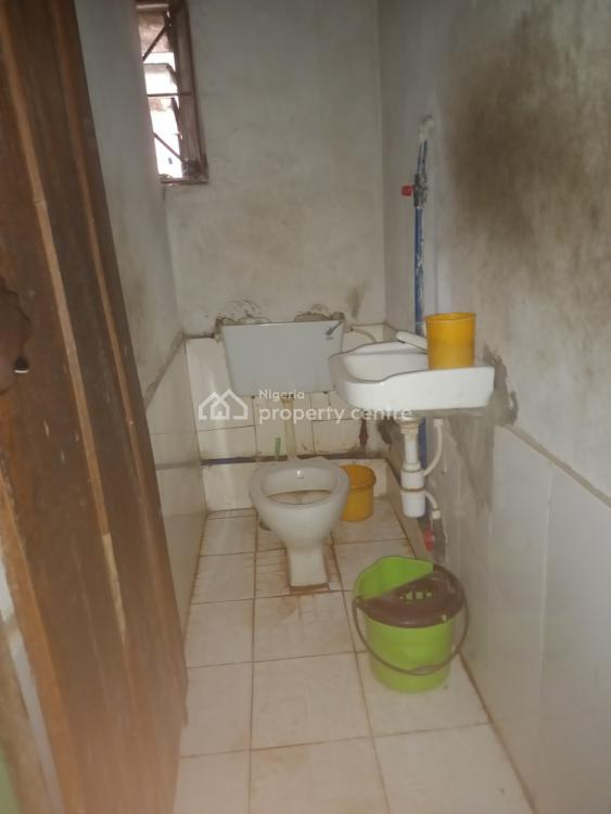 a Room in a Flat, Iba Housing  Estate, Ojo, Lagos, Self Contained (single Rooms) for Rent