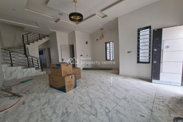 Spacious and Nicely Built 4 Bedroom Semi-detached House with Bq, Chevron, Lekki, Lagos, Semi-detached Duplex for Sale