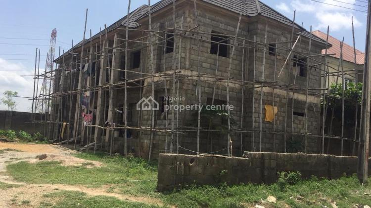 4 Units of 2 Bedrooms Flat (carcass), Phase 4, Kubwa, Abuja, Block of Flats for Sale