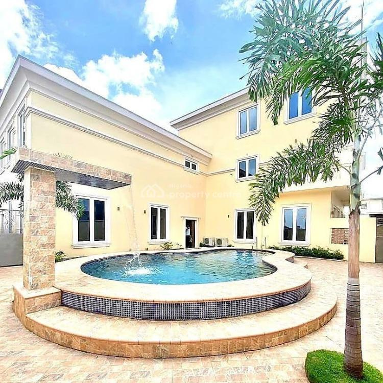 Exquisite 5 Bedrooms Fully Detached House, with 2 Rooms Bq., Banana Island, Ikoyi, Lagos, Detached Duplex for Sale