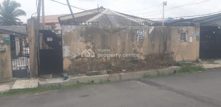 a Demolishable Bungalow on a Piece of Land, Off Adeniran Ogunsanya, Tafabalewa Crescent, Adeniran Ogunsanya, Surulere, Lagos, Residential Land for Sale