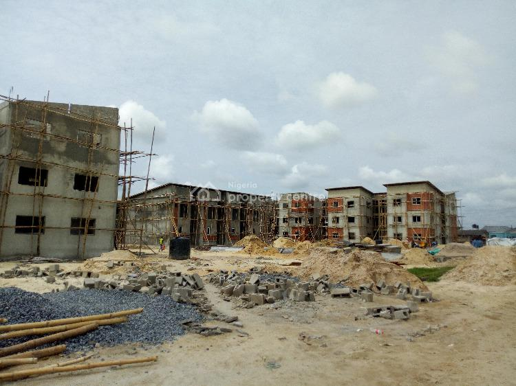 New 2 Bedroom Flat in a Gated Estate with Option to Spread Payment, Abraham Adesanya Axis, Ajah, Lagos, Flat for Sale