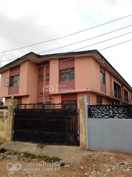 4 Numbers of 3 Bedroom Flats on Full Plot of Land, Egbeda, Alimosho, Lagos, Block of Flats for Sale