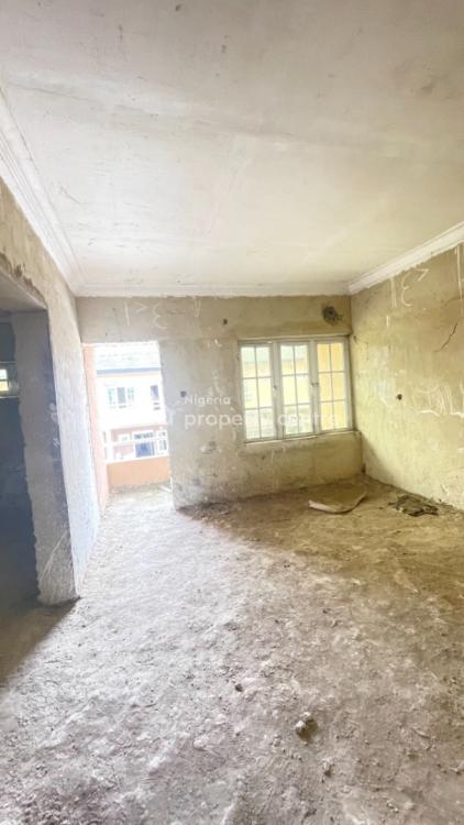 Carcass 3 Bedroom Terrace Duplex, Abraham Adesanya, Ajah, Lagos, Terraced Duplex for Sale