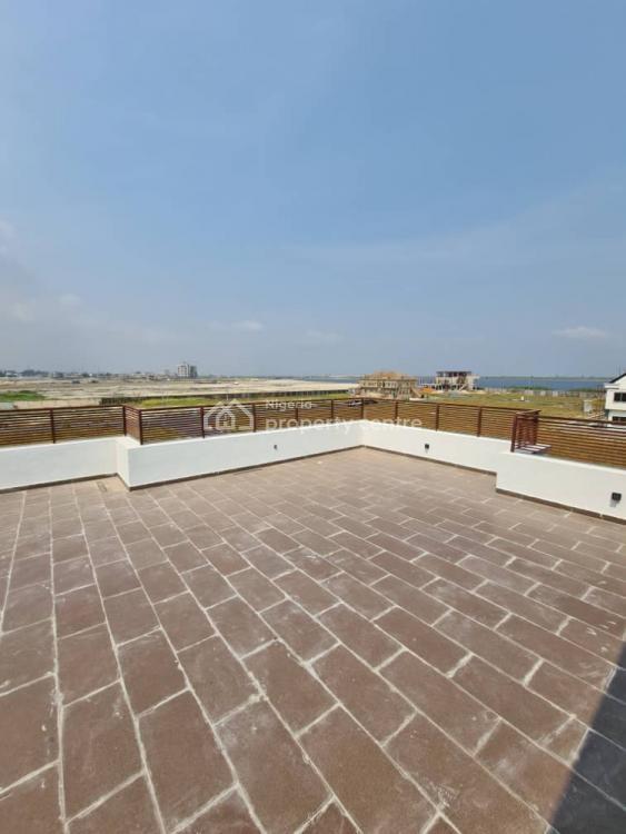Luxury 4 Bedroom Semi Detached House with Bq, Cowrie Creek Estate, Ikate, Lekki, Lagos, Semi-detached Duplex for Sale