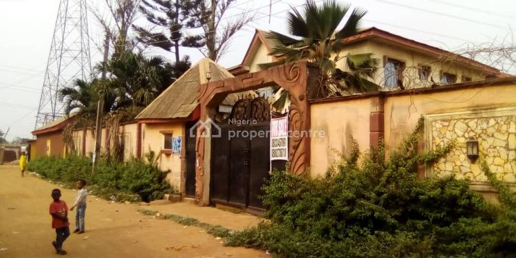 900+sqm of Land with 6 Flats, Powerline, Akute, Ifo, Ogun, Block of Flats for Sale
