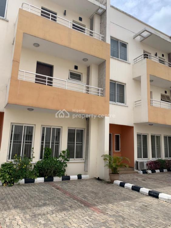 4 Bedroom Terraced Serviced Duplex with a Room Bq, Swimming Pool N Gym, Gra, Ikeja, Lagos, Terraced Duplex for Sale