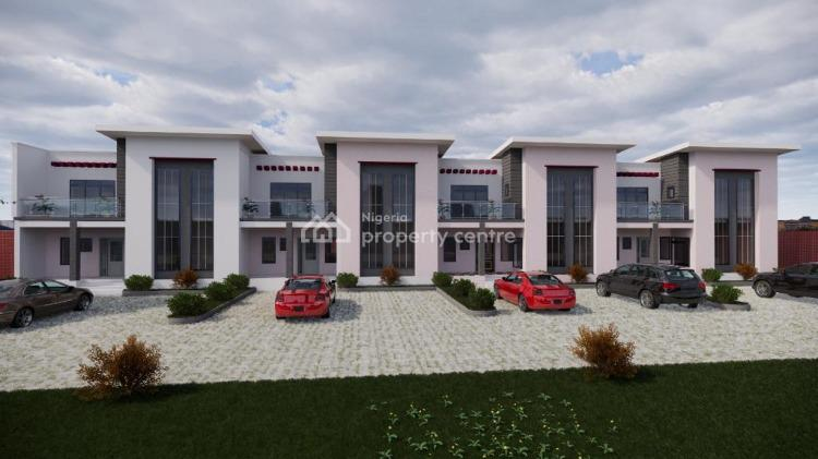 3 Bedroom Terraced Duplex, Close to Ochacho Estate, Life Camp, Abuja, Terraced Duplex for Sale