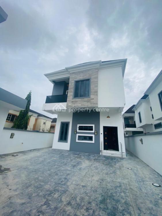 4 Bedroom Fully Detached Duplex with B/q, Chevy View Estate, Lekki, Lagos, Detached Duplex for Rent