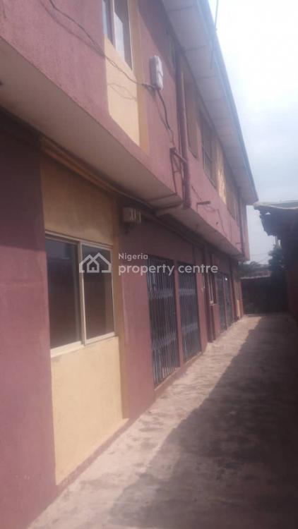 a Block of 4 Numbers of 3 Bedroom Flat, Off Yahaya Abatan Road, Ogba, Ikeja, Lagos, Block of Flats for Sale