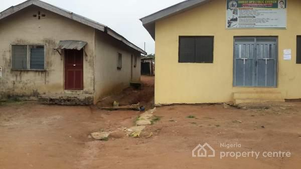 A Plot Of Land On It Is 3 Bedroom Flat One Apartment