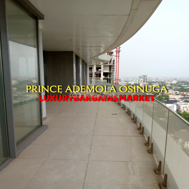 High Floor 4 Bedroom Apartment in Tallest Residential Building, Central Ikoyi, Old Ikoyi, Ikoyi, Lagos, Flat for Sale