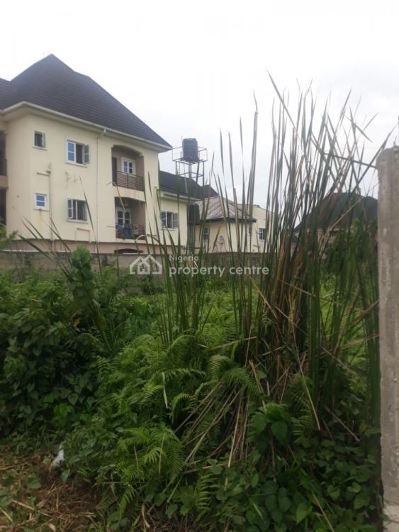 Full Dry Plot of Bare Land in a Serene & Secured Estate with C of O, Paddy Chuka, Divine Estate, Ago Palace, Isolo, Lagos, Residential Land for Sale