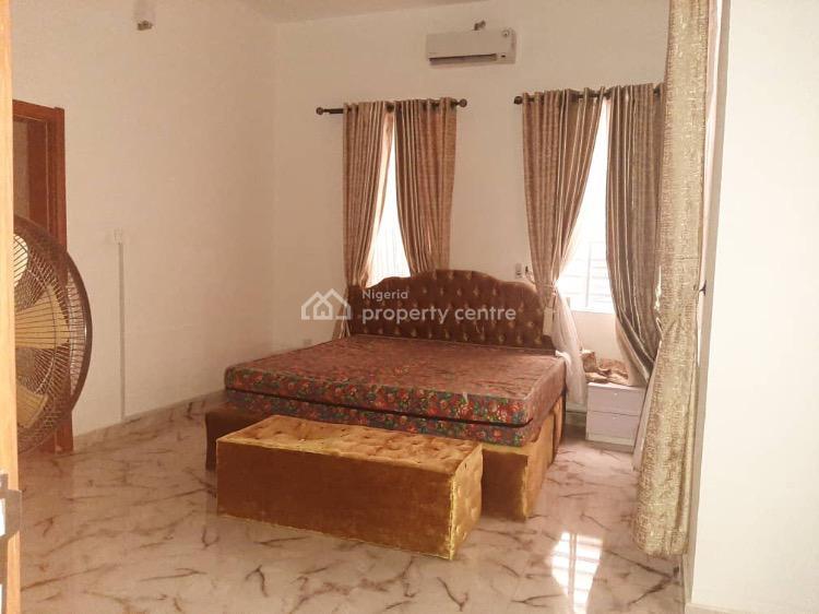 Furnished 4 Bedroom Semi Detached Bed Duplex with a Bq, Chevron, Lekki, Lagos, Semi-detached Duplex for Rent