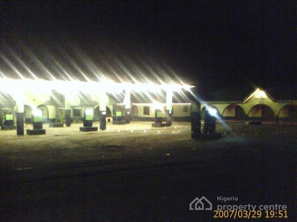 Filling Station with Guest House, Calabar-itu Highway, Ikot Ekpene, Akwa Ibom, Filling Station for Sale