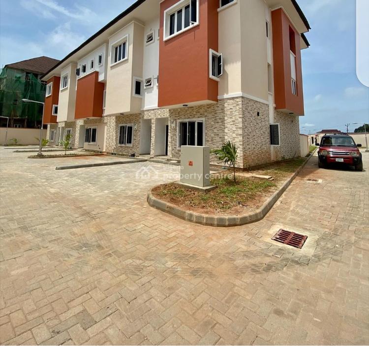 Beautiful Affordable 4 Bedroom Terrace Duplex, Ikate, Ilasan, Lekki, Lagos, Terraced Duplex for Rent