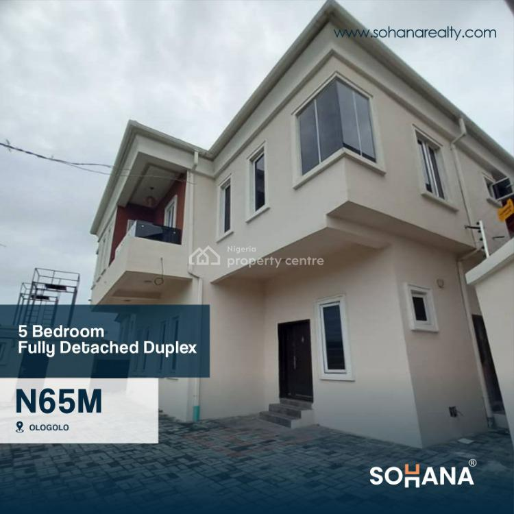 Luxury  5 Bedroom Fully Detached Duplex with Bq, Lekki, Lagos, House for Sale