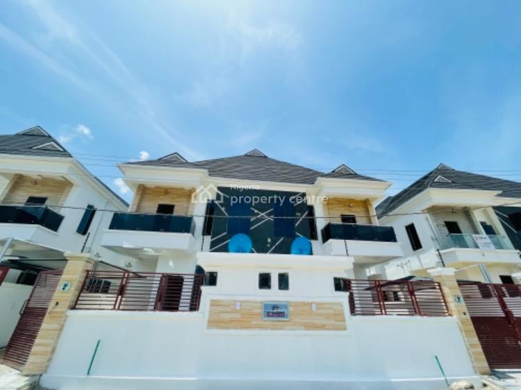 Tastefully Finished 4 Bedroom Semi Detached Duplex with a Bq, Off Chevron, 2nd Lekki Tollgate, Lekki, Lagos, Semi-detached Duplex for Sale