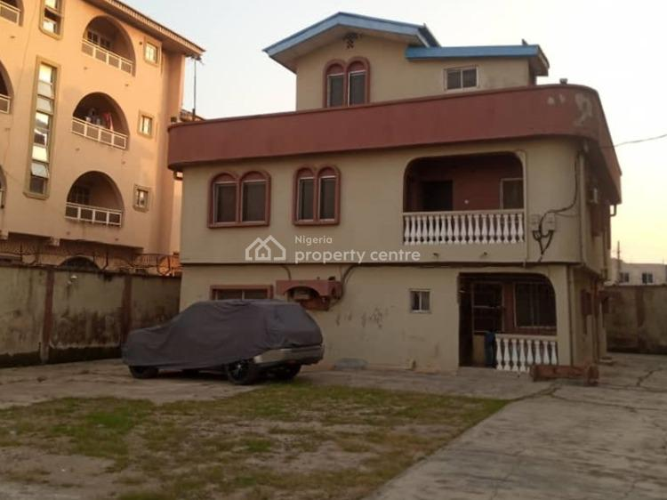a Block of 2 Units of 3 Bedroom and 1 Mini Flat, Okota, Isolo, Lagos, Block of Flats for Sale