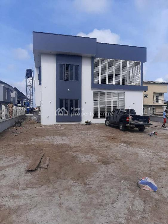 Luxurious 5 Bedroom Duplex with Bq on a Plot of Land, Behind Shoprite Mall, Sangotedo, Ajah, Lagos, House for Sale