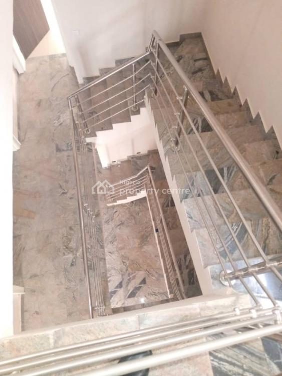 Luxury Four Bedrooms Terraced Duplex with Excellent Facilities and a Bq, Life Camp, Abuja, Terraced Duplex for Rent
