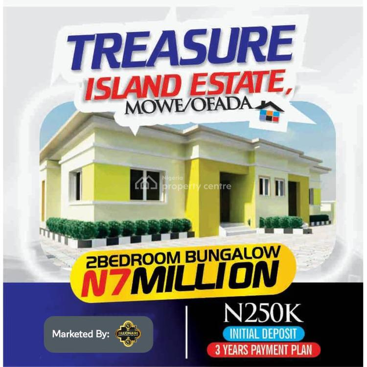 Fully Finished 2 Bedroom Detached Bungalow, Treasure Island Estate, Mowe Ofada, Ogun, Detached Bungalow for Sale