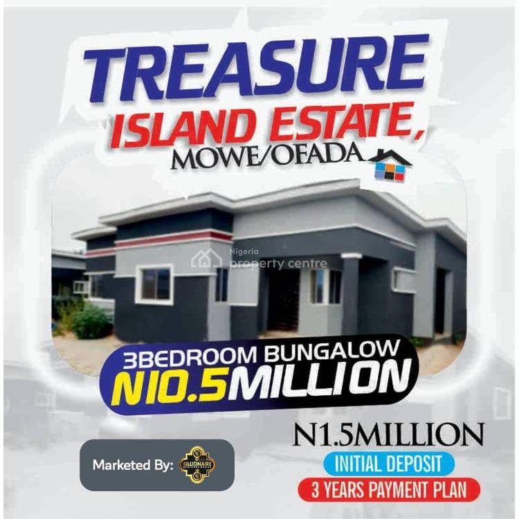 Fully Finished 3 Bedroom Bungalow, Treasure Island Estate, Mowe Ofada, Ogun, Semi-detached Bungalow for Sale