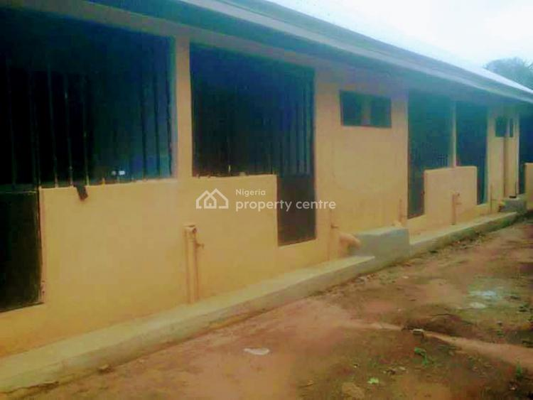 Very Decent 12 Self Contained Rooms Plus One Extra Plot of Land Inside., Ohaji/egbema, Imo, Block of Flats for Sale