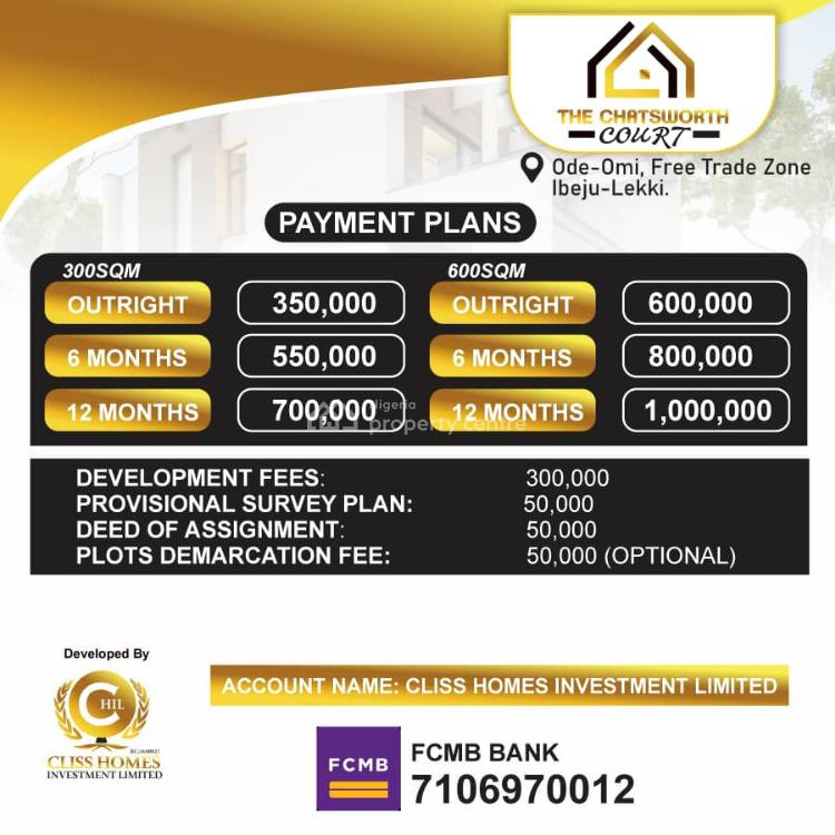 100% Dry Land with Freehold (buy 6 & Get 1 Free), Ode-omi, Ibeju Lekki, Lagos, Mixed-use Land for Sale