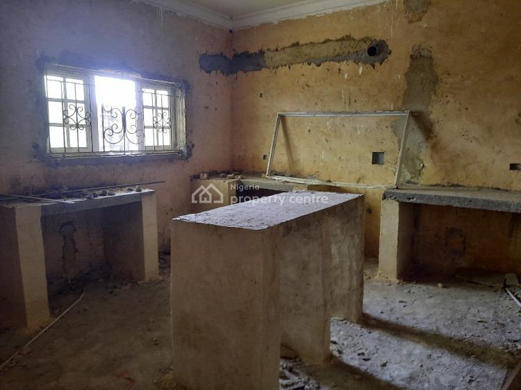 a Carcass 4 Bedroom Semi Detached Duplex Plus a Bq with 22 Hour, Lekki Gardens Phase Three, Ajah, Lagos, Semi-detached Duplex for Sale