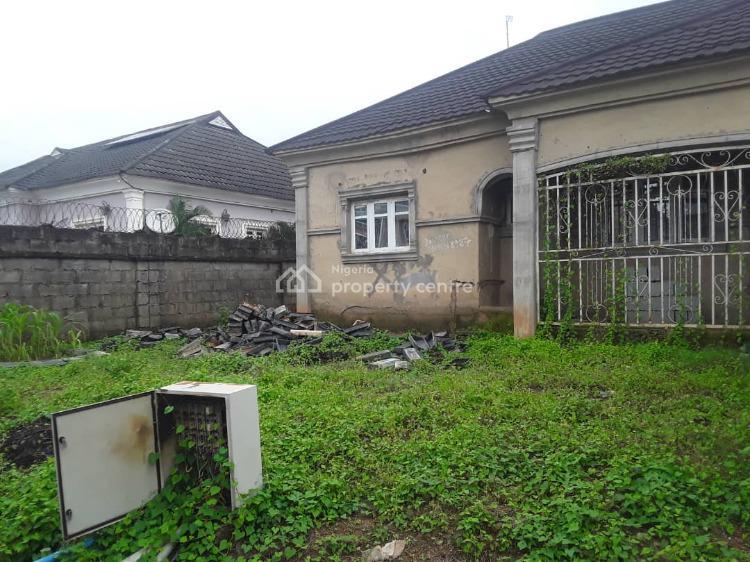 2 Bedroom Semi-detached Bungalow (uncompleted), Before Turkish Hospital, Mbora (nbora), Abuja, Semi-detached Bungalow for Sale